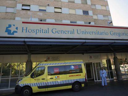Fachada del hospital Gregorio Marañón de Madrid.