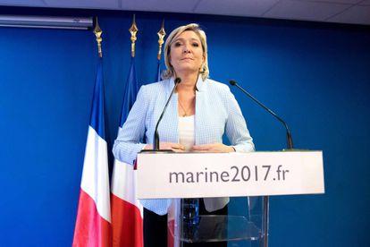 Marine Le Pen valora los resultados de Trump