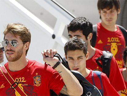 Directo: La Roja brinda su trofeo