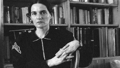 La escritora Adelaida García Morales en 1990.
