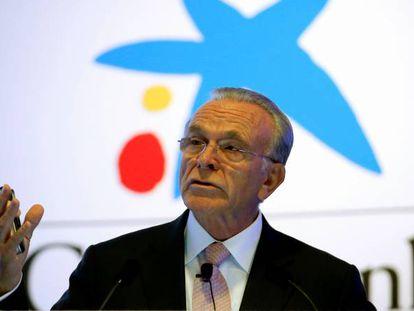 Isidro Fainé, presidente de Criteria, en una imagen de archivo.