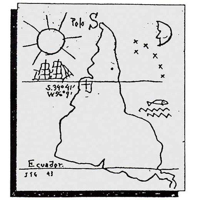 Suramérica al revés: <i>La escuela del sur,</i> de Joaquín Torres García. 1935.