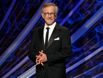 Steven Spielberg en la ceremonia de los Oscar celebrada el 9 de febrero de 2020 en el Dolby Theatre en Hollywood.