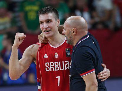 Bogdanovic y Djordjevic celebran el pase a la final