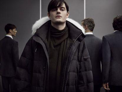 Una muestra de la campaña de invierno de Zegna Couture