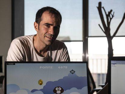 Jordi Espada, programador de la start-up Braingaze, desarrolladora del videojuego 'Duck' pensado para personas con TDAH