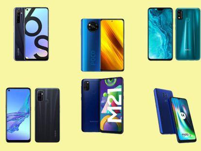Seleccionamos y ponemos a prueba los mejores móviles de gama de entrada de este 2020.