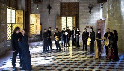 El grupo Capella de Ministrers en una fotografía de promoción.