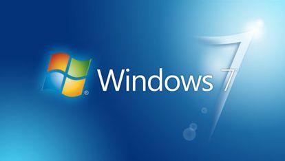 Fondo de escritorio de Windows 7.