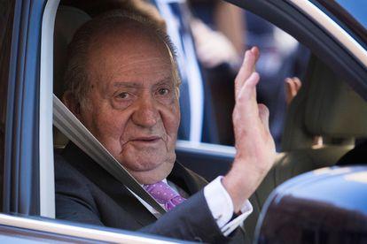 Juan Carlos I, en Palma de Mallorca el 1 de abril de 2018.