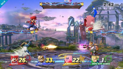 Imagen de un videojuego de Nintendo.
