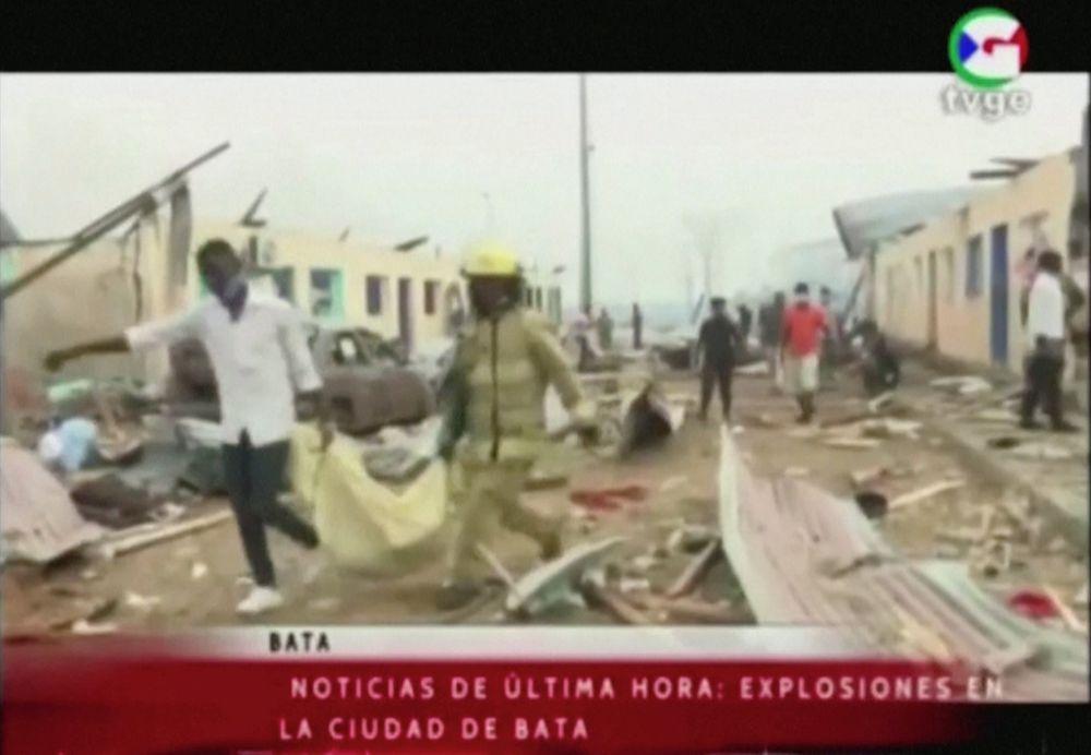 Varias explosiones en Guinea Ecuatorial causan al menos 17 muertos y más de 400 heridos