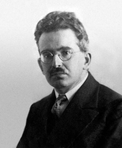 Walter Benjamin, retratado en 1928.