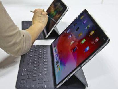 Apple renueva su tableta de alta gama eliminando botones y añadiendo un nuevo puntero