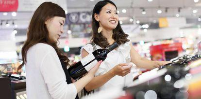 El mercado asiático demanda cada vez más vino.