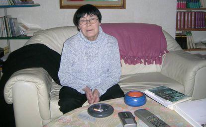 La escritora Agota Kristof.