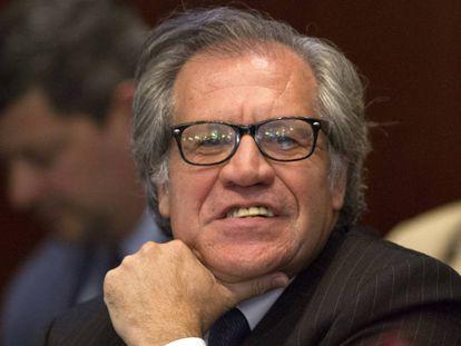 El secretario general de la OEA, Luis Almagro, el pasado septiembre.