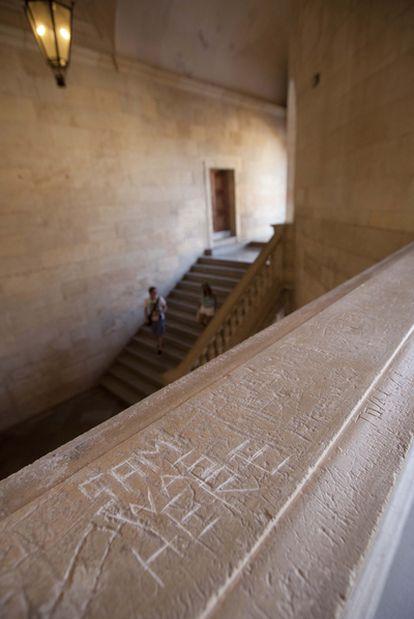 Pintadas en La Alhambra.