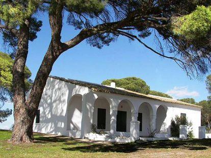 Casa y finca del poeta Juan Ramón Jiménez a la venta.