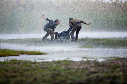 Fotograma de la película 'La Isla Mínima'.
