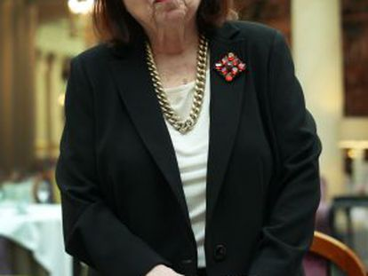 Nélida Piñon, la semana pasada en Madrid.