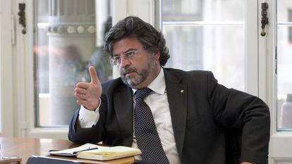 El diputado Antoni Castellà, en una imagen de archivo.