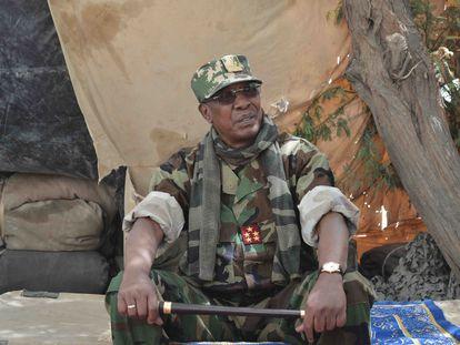 El presidente de Chad, Idriss Déby, durante la operación militar contra Boko Haram en el Lago Chad.