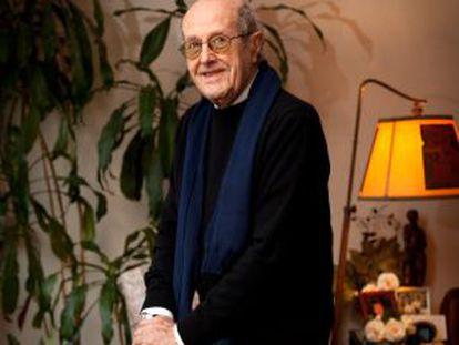 Manoel de Oliveira, retratado en su casa de Oporto, en diciembre de 2009.