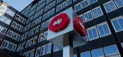 Oficinas del grupo Energías de Portugal (EDP).