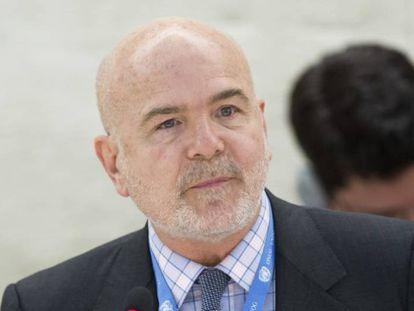 Michel Forst, relator de la ONU sobre derechos humanos.