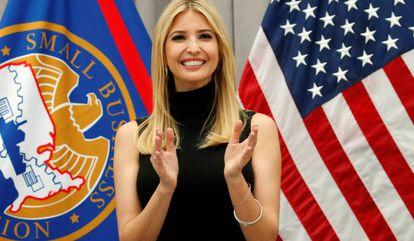 Ivanka Trump, en el Instituto de Paz en Washington.