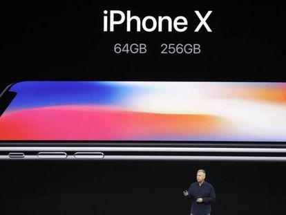 Presentación del iPhone X, 8 y 8 Plus. Marcio Jose Sanchez AP.
