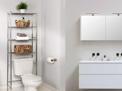 Este estante para baño tiene un 11% de descuento y es superventas en Amazon