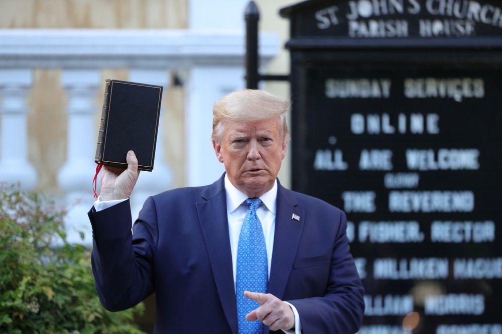 Toque de queda en Estados Unidos tras la amenaza de Trump de desplegar al Ejército en las calles