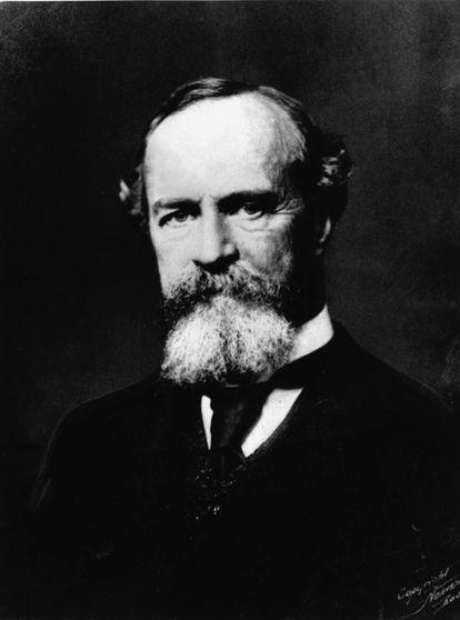 Retrato de William James.