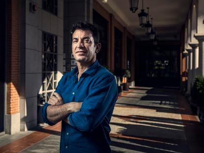 Arturo Valls, en La Moraleja (Madrid) la semana pasada.