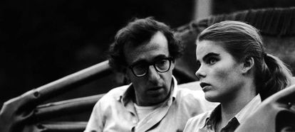Escena de la película Manhattan de Woody Allen.