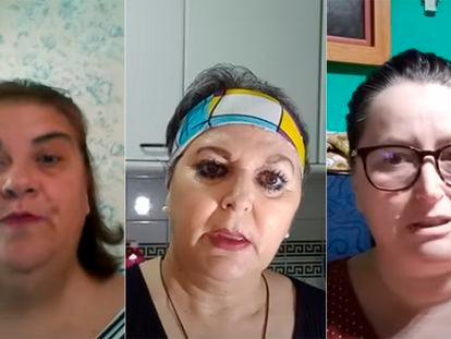 Las 'youtubers', Un Té con Manuela, Encarni1969 y Conchi Córdoba.