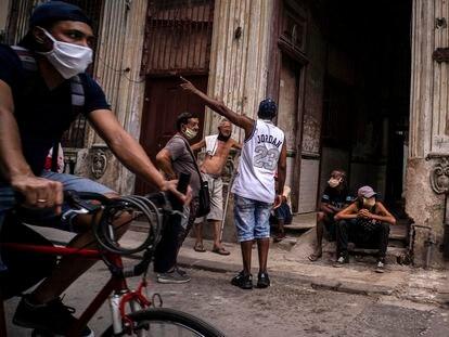 Una calle de La Habana, este miércoles.