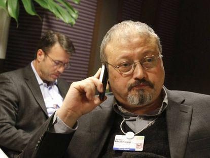 Jamal Khashoggi, en Davos (Suiza) en 2011.
