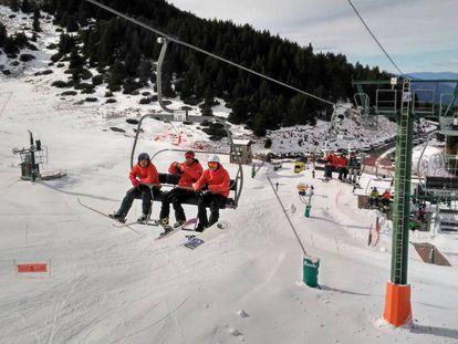 Estación de esquí de La Masella, en el Pirineo catalán.