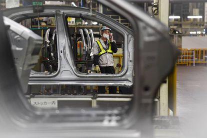 Planta de Toyota en Japón.