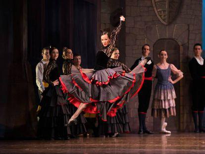 Espectáculo de la Compañía Nacional de Danza, que celebra esta semana un espectáculo por su 40 aniversario.
