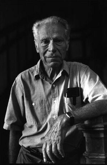 El economista alemán Albert Otto Hirschman, en 1982.