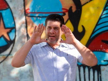 El economista cubano Ricardo Torres, en una imagen tomada el pasado 16 de julio en las calles de La Habana.