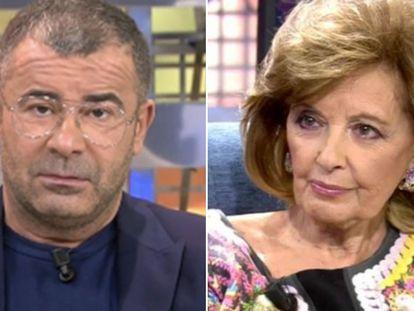 Jorge Javier Vázquez y María Teresa Campos.