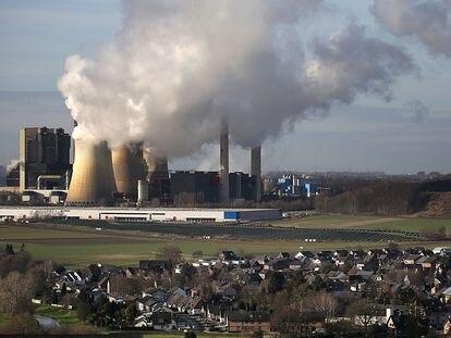 Central eléctrica de carbón en el Estado alemán de Renania del Norte-Westfalia.