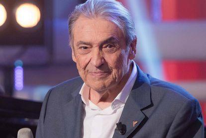 El cantautor Alberto Cortez, en 2016.