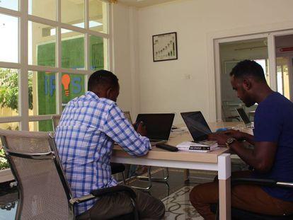 El espacio de trabajo del iRise Hub.
