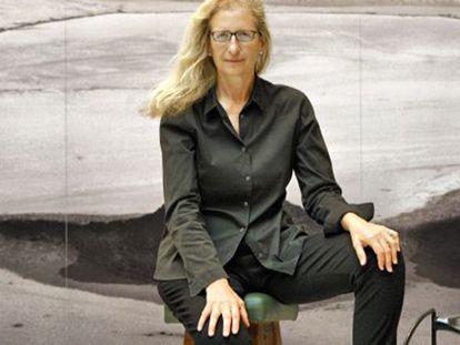 La fotógrafa estadounidense Annie Leibovitz, Príncipe de Asturias de Comunicación y Humanidades